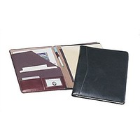 Goodhope Bags Leather Pad Holder; Burgundy