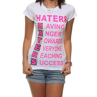 rue21 :   C HATERS LEP