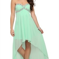 Bodice and High Low Skirt