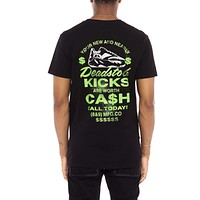 Cash For Kicks Sneaker Con T Shirt Neon Green