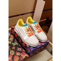 LV  Men Fashion Boots fashionable Casual leather Breathable Sneakers Running Shoes0525wk