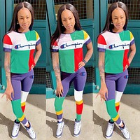 Multicolored Womens Stylish CHAMPION Sportswears S3532