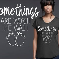 Worth The Wait Maternity T-shirt