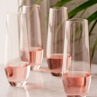 Tinted Flutes Set | Urban Outfitters