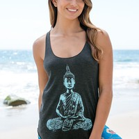 Jala Clothing - Buddha Tank | Charcoal
