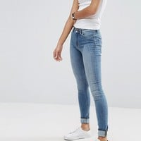 Weekday Body High Waist Superskinny Jeans at asos.com