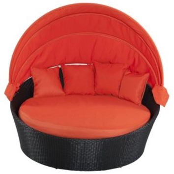 Sofa Negin  Bed, Orange, Outdoor Daybeds
