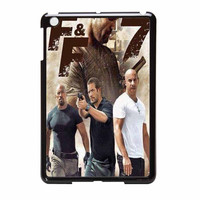 Fast And Furious 7 Poster Collage iPad Mini Case