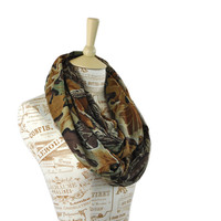 Real Tree Camo Infinity Scarf Camouflage Duck Dynasty