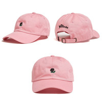 Pink The Hundreds Rose Strap Cap Adjustable Golf Snapback Baseball Hat