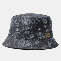 10deep Thompson Fisherman Hat - Black Floral Brocade at Urban Industry