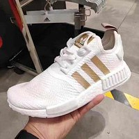 Adidas NMD R1 W men's and women's comfortable lightweight cushioning sports running shoes