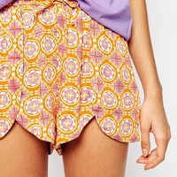 Minkpink Lazy Sunday Mornings Shorts