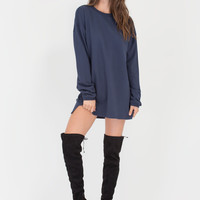 Get Comfortable Sweatshirt Dress