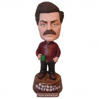 Parks and Recreation Ron Swanson Bobblehead | NBC Universal Store