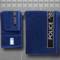 Buy Doctor Who 3 Piece TARDIS Towel Set