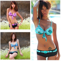 New Sexy Women's Bikini SET Push-up Padded Bra Swimsuit Bathing Suit Swimwear = 1955970756