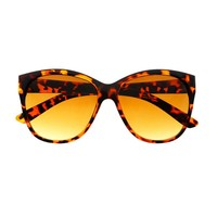 Retro Fashion Style Large Womens Cat Eye Sunglasses Shades C1140
