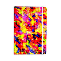 "Ebi Emporium ""The Flock"" Yellow Red Everything Notebook"