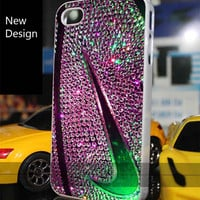 nike basketball just do it glitter for iPhone 4/4S/5/5S/5C Case, Samsung Galaxy S3/S4, iPod Touch 4/5 Case