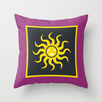 Sunny day II Throw Pillow by MJ Mor