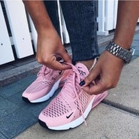 Nike Women Men Air Max 270 Pink Sneaker