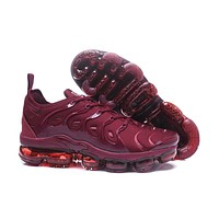 2018 Nike Air VaporMax Plus TN Red Wine Sport Running Shoes