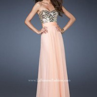 La Femme Dress 18518 at Peaches Boutique
