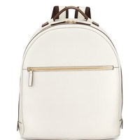 Revival Stamped Leather Backpack - Salvatore Ferragamo