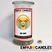 Oh No! - Emoji Candles
