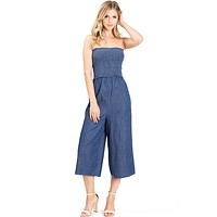 Cassie Chambray Jumpsuit