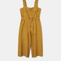Long soft jumpsuit - Dresses and jumpsuits Plus sizes | Violeta by MANGO USA