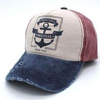 1 Pcs Do Old Hole Baseball Caps Spring Autumn Pirates Hats For Women And Men Cotton Caps Snapback