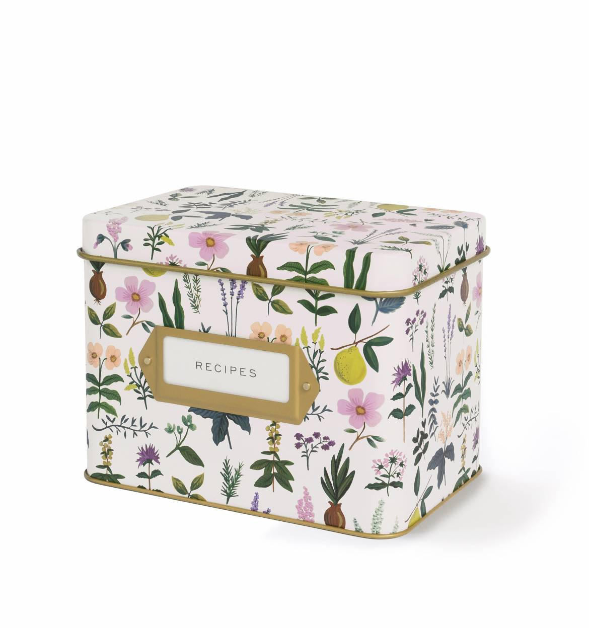 Image of Herb Garden Recipe Box and Cards