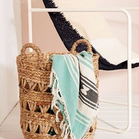 Lucy Woven Laundry Basket | Urban Outfitters