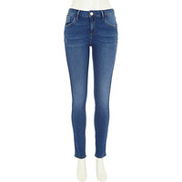 River Island Womens Intense blue wash Amelie superskinny jeans