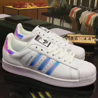 Adidas Superstar Shell Toe Causal Sport Shoes Sneakers H-CSXY