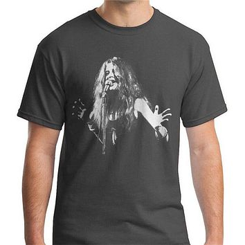 Janis Joplin T Shirt Unisex Adult Mens Womens Tshirt Music Rock Band Summer harajuku Funny Tee Shirt|T-Shirts