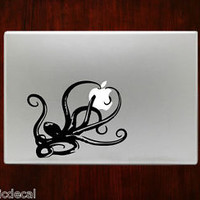 Octopus Unique Monster Animal Decal Sticker For Macbook 13 15 inch Pro Air