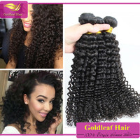 Great Length Hair Extensions Deep Curly Durable Brazilian Remy Hair Wefts Look Shiny Feel Good Top Quality Virgin Human Hair Weft 3pcs Lot