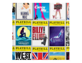 Broadway Playbill Palooza iPhone Cases & Skins