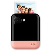 "Polaroid POP 3x4"" Instant Print Digital Camera with ZINK Zero Ink Printing Technology - Pink."