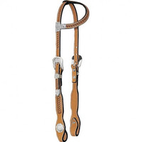 Cowperson Tack Basketweave Show Headstall - Western Tack - Tack