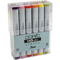 Copic sketch Markers 12-Piece Basic Set