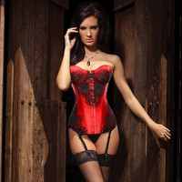 The new palace of corsets multicolor code more garment lingerie = 1930233540