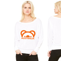 Australia Koala women's long sleeve tee