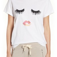 Sincerely Jules 'Lips & Lashes' Graphic Tee | Nordstrom
