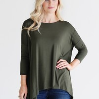 Army PIKO Handkerchief Top
