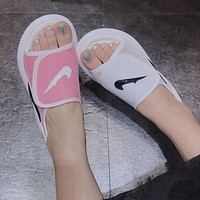 NIKE Women Fashion Slipper Flats Shoes