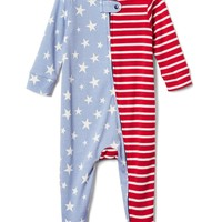 Americana footed zip one-piece | Gap